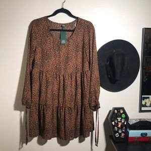 Wild Fable leopard print Dress